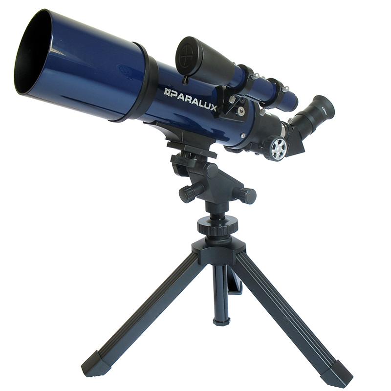 Télescope PARALUX CHASSEUR D'ETOILES F350/70 - LUNETTE ASTRO. 30-5026-1
