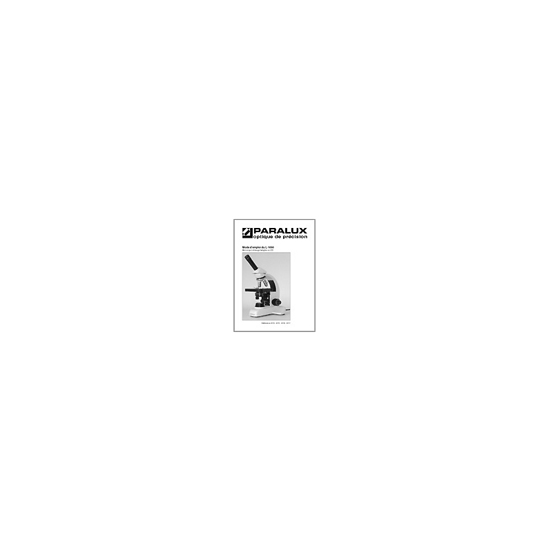 Accessoire Microscopie PARALUX TETE BITUBE PR L1050. 61-6573-9