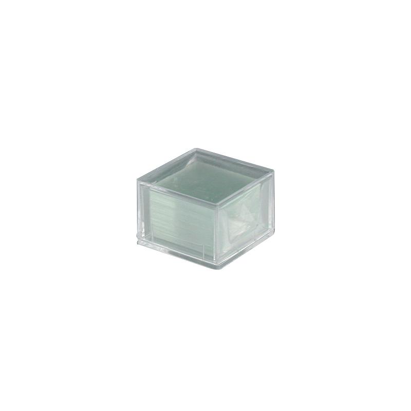 Accessoire Microscopie PARALUX BOITE DE 200 COUVRE-OBJETS - 18X18. 61-6588-9