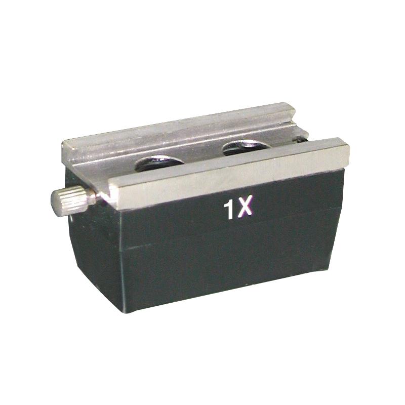 Accessoire Microscopie PARALUX PAIRE D'OBJECTIFS 1X PR TP2 / TP3. 61-6651-9