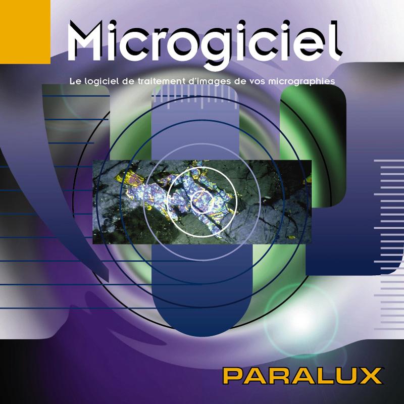 Accessoire Microscopie PARALUX LOGICIEL MICROGICIEL PR PC. 61-9300-9