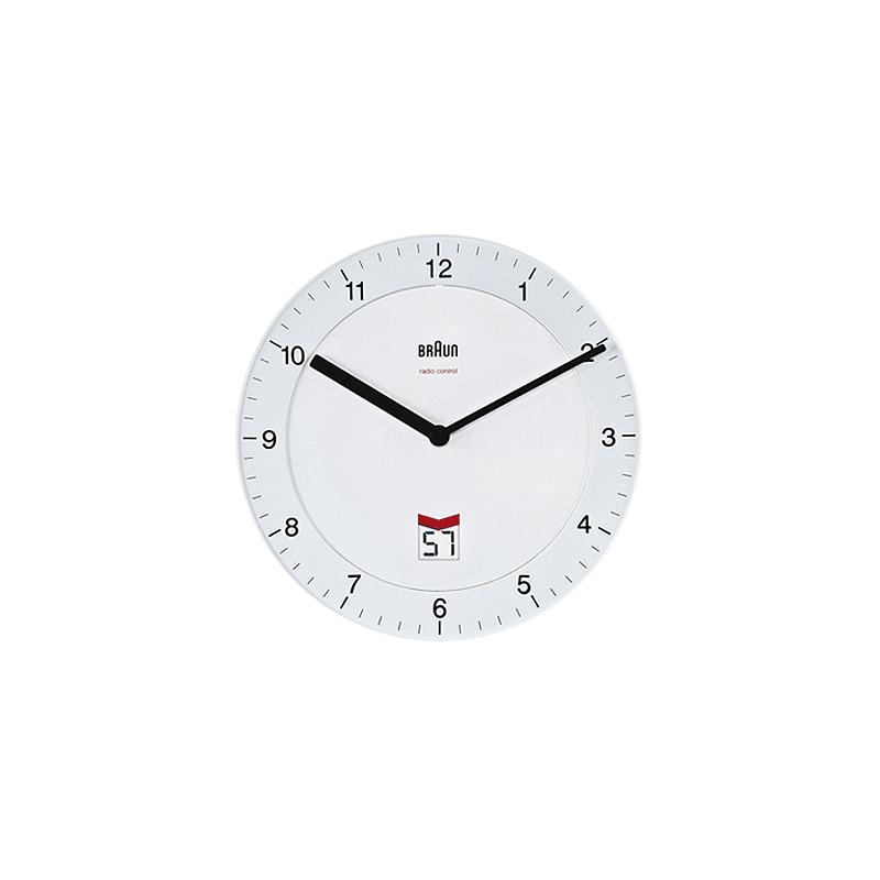 Horloge BRAUN BNC006 BLANC. BNC006WHI-WH