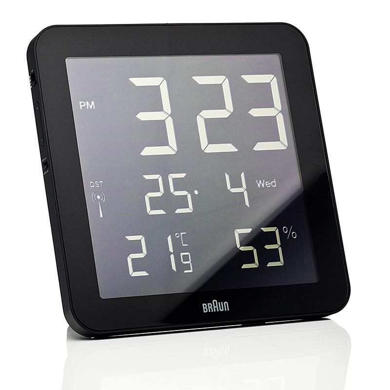 Horloge BRAUN BNC014 NOIR. BNC014BLA-RC