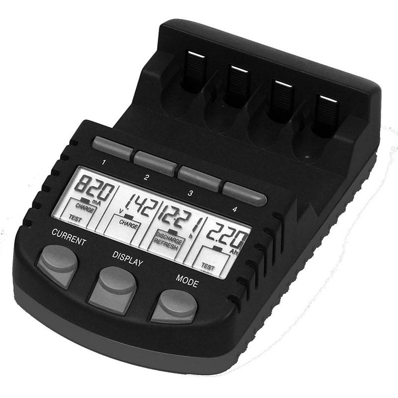 Appareil spécialisé LA CROSSE TECHNOLOGY CHARGEUR DE PILES RS700 - NOIR. RS700-BLI