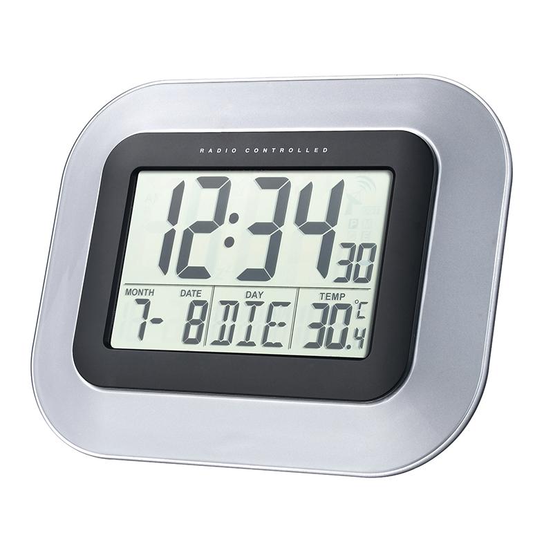 Horloge LA CROSSE TECHNOLOGY WS8005 NOIR ARGENT. WS8005BLA-SIL