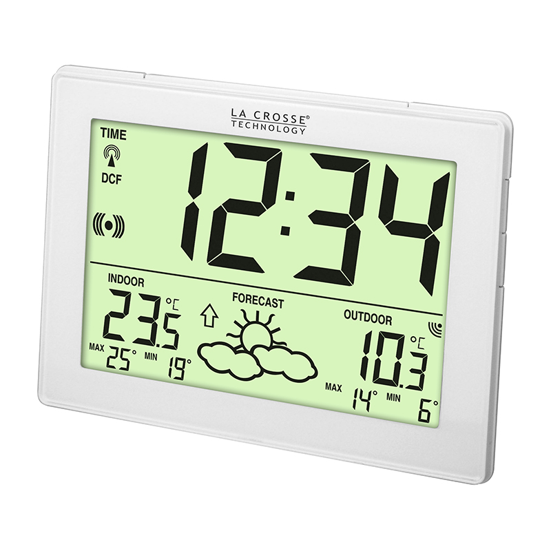 Station Météo simple LA CROSSE TECHNOLOGY WS9180 BLANC. WS9180IT-WHI