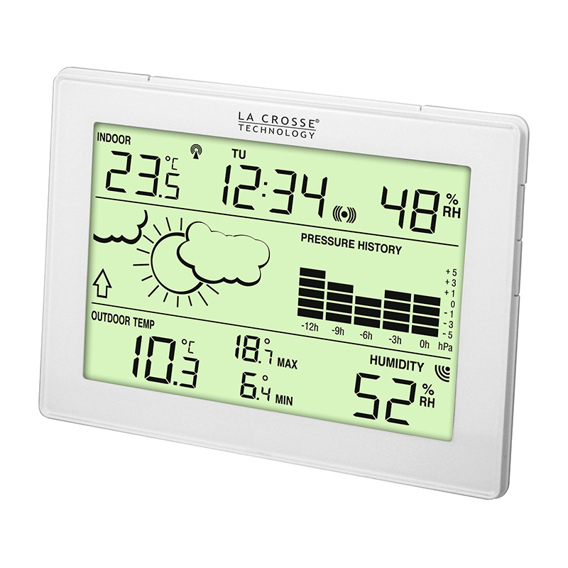Station Météo simple LA CROSSE TECHNOLOGY WS9274 BLANC. WS9274IT-WHI-A