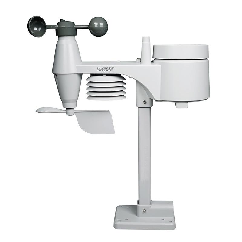 Transmetteur thermomètre/hygromètre LA CROSSE TECHNOLOGY WSTX1650 TRANSMETTEUR 5 EN 1 (WS1650) - BLANC. WSTX1650
