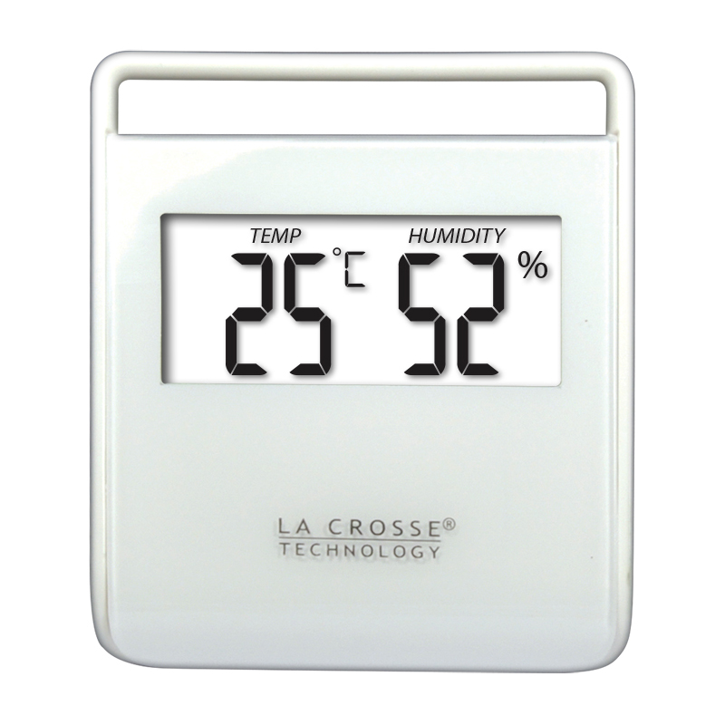 Station Température LA CROSSE TECHNOLOGY WT134 BLANC. WT134-WHI