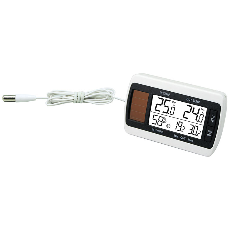 Station Température LA CROSSE TECHNOLOGY WT140 NAT BLANC. WT140NAT-WHI