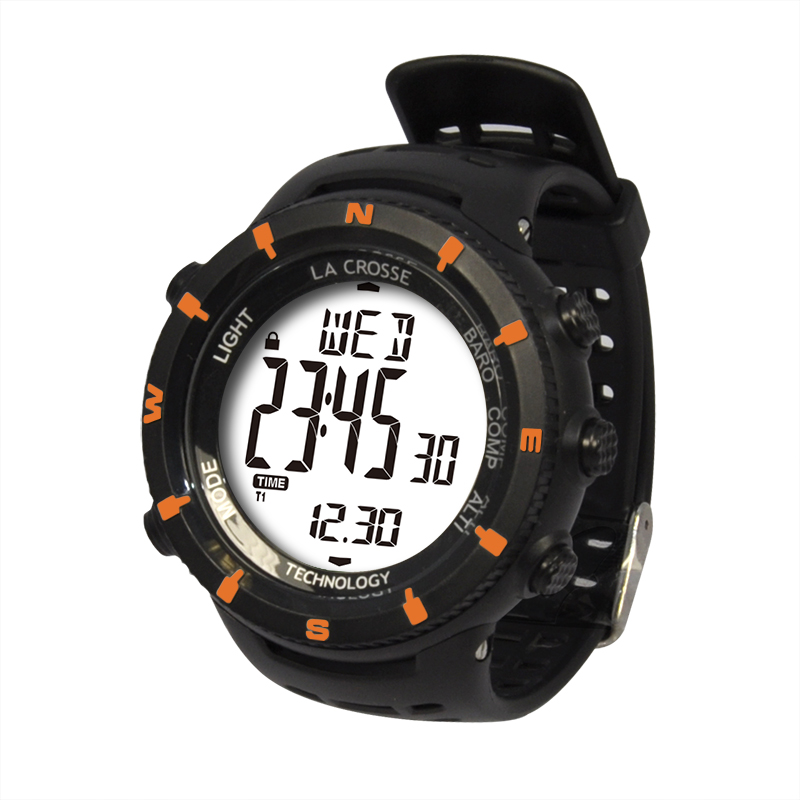 Montre LA CROSSE TECHNOLOGY WTXG-11 MONTRE OUTDOOR ORANGE. WTXG-11O