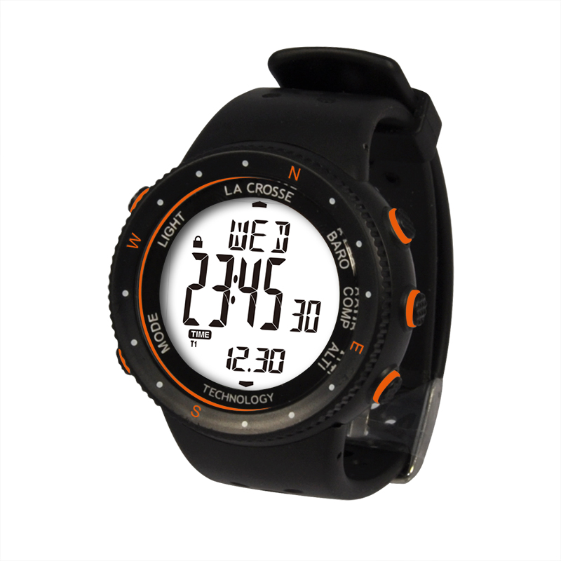 Montre LA CROSSE TECHNOLOGY WTXG-17 MONTRE OUTDOOR ORANGE. WTXG-17O